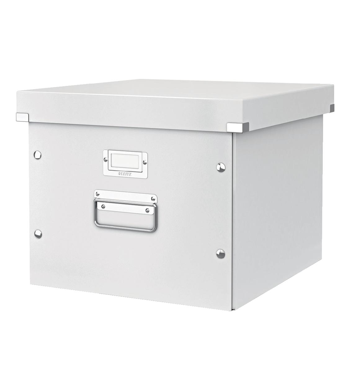 Image for Leitz Click and Store Archive Box For A4 Suspension Files White Ref 60460001
