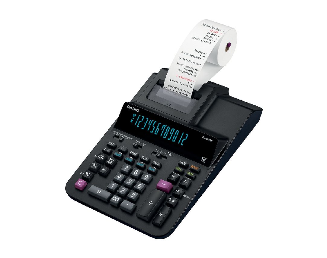 Casio FR-620TEC Printing Calculator Ref FR620TEC