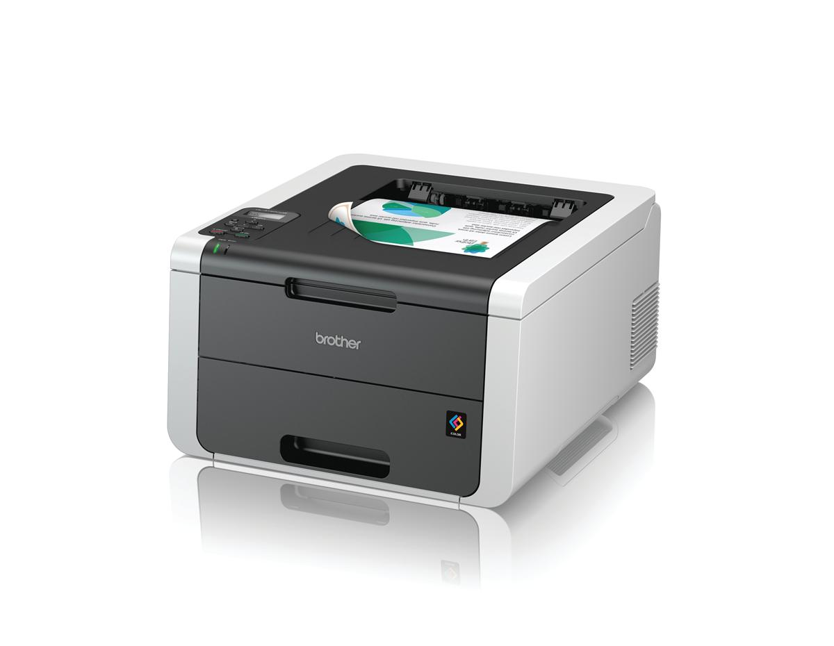 Image for Brother Colour Laser Duplex Printer with Wi-Fi Ref HL3150CDW