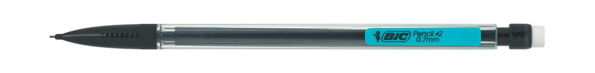 Image for Bic Matic Mechanical Pencil with 3 x HB 0.7mm Lead Ref 820959 [Pack 12]