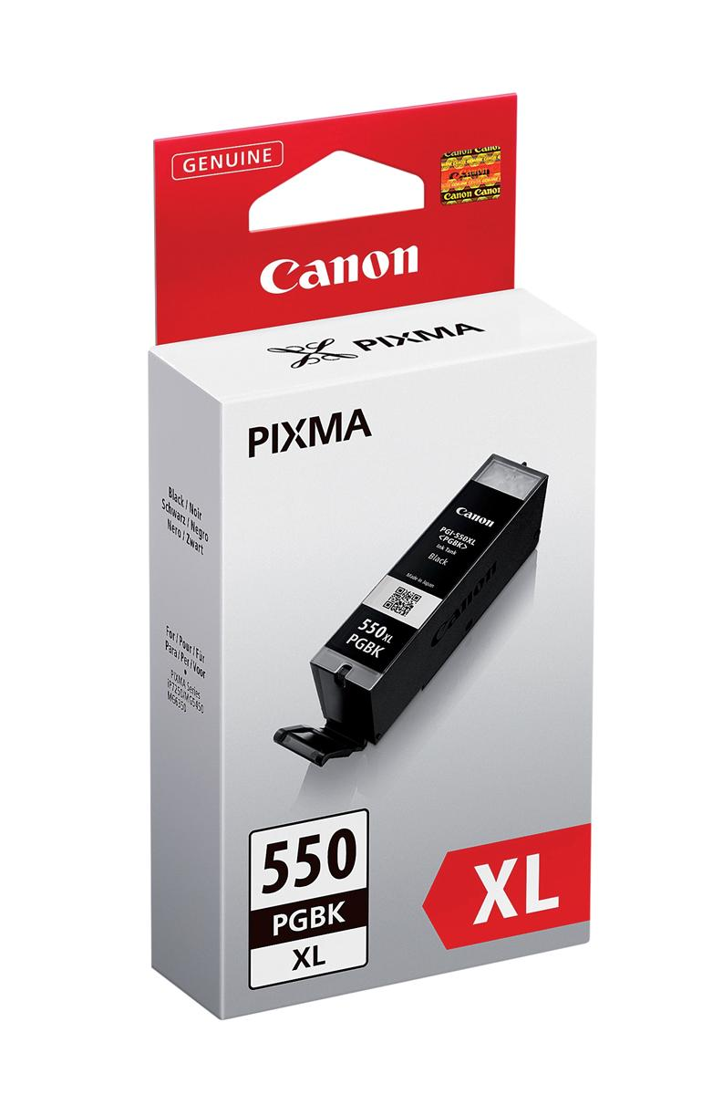 Canon PGI-550XL Inkjet Cartridge High Yield Page Life 500pp 22ml Black Ref 6431B001