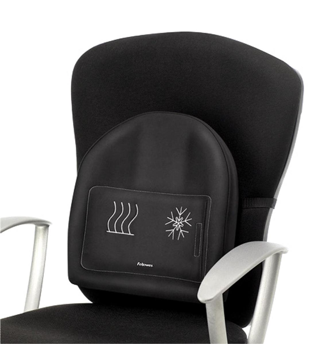 Image for Fellowes Professional Series Heat and Soothe Back Support Ref 8041901