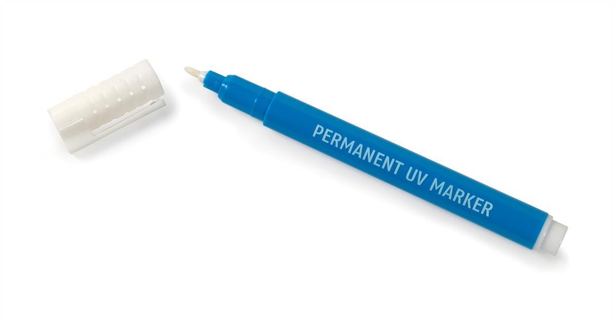 UV Security Marker Pen Permanent Ultra Violet Ink