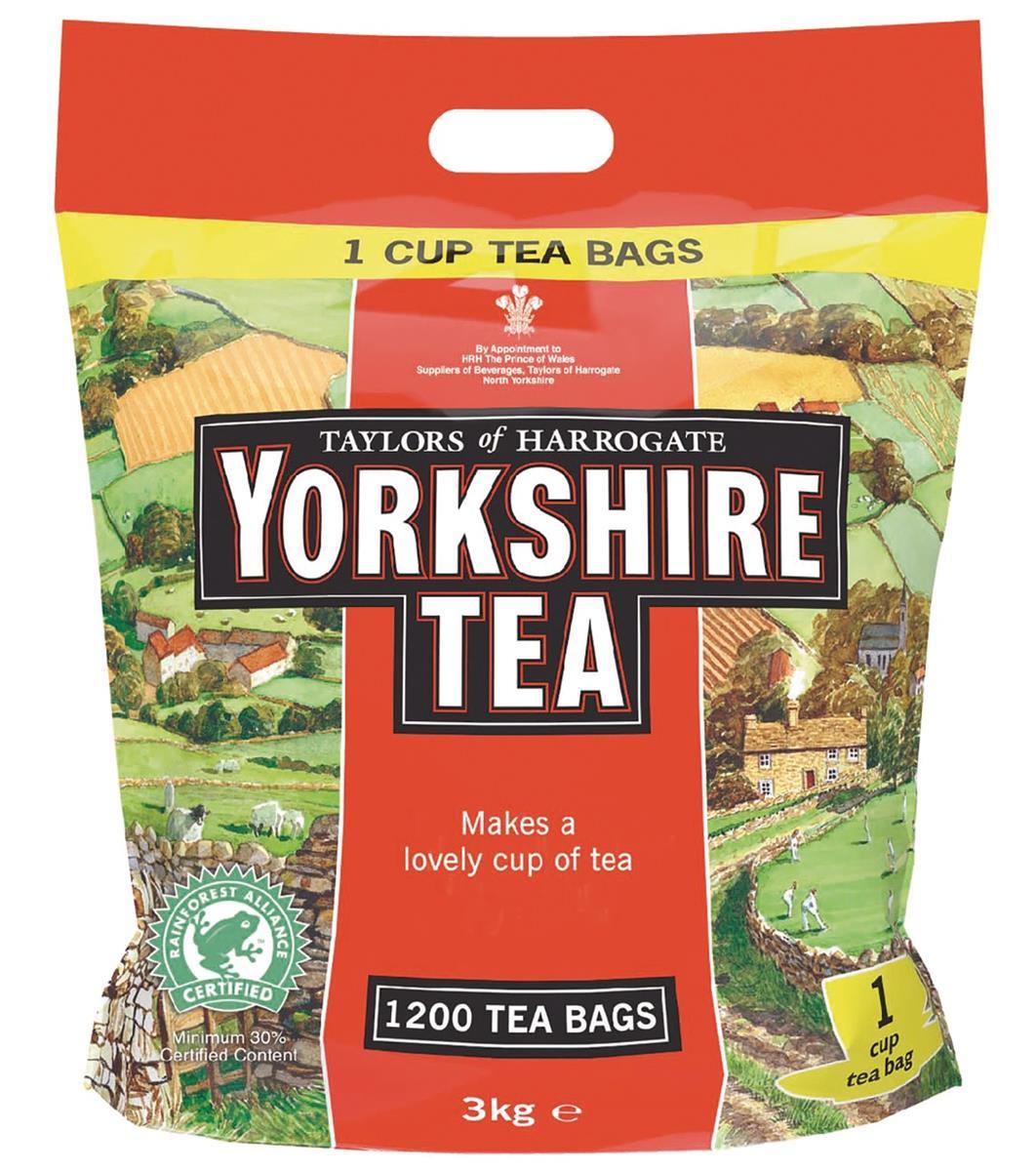 Yorkshire Tea Bags Ref 0403170 [Pack 1200]