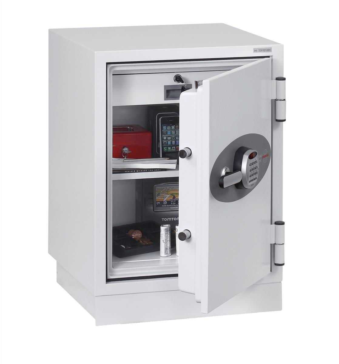 Image for Phoenix Fire Fighter II Safe Electronic Lock 93kg 63 Litre White Ref FS0441E