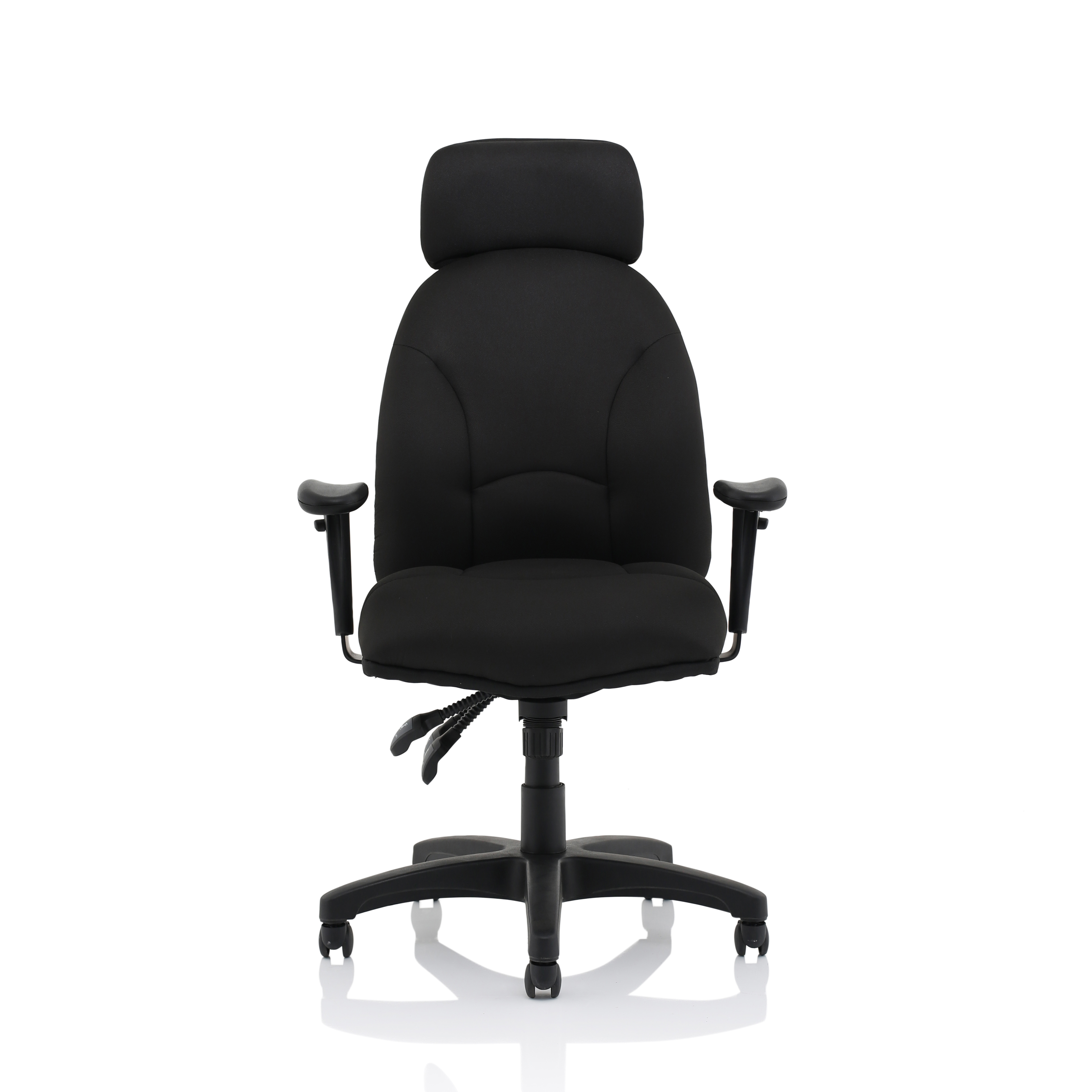Trexus Energize Aviator Chair Black 540x450x490-590mm Ref 11199-01Black