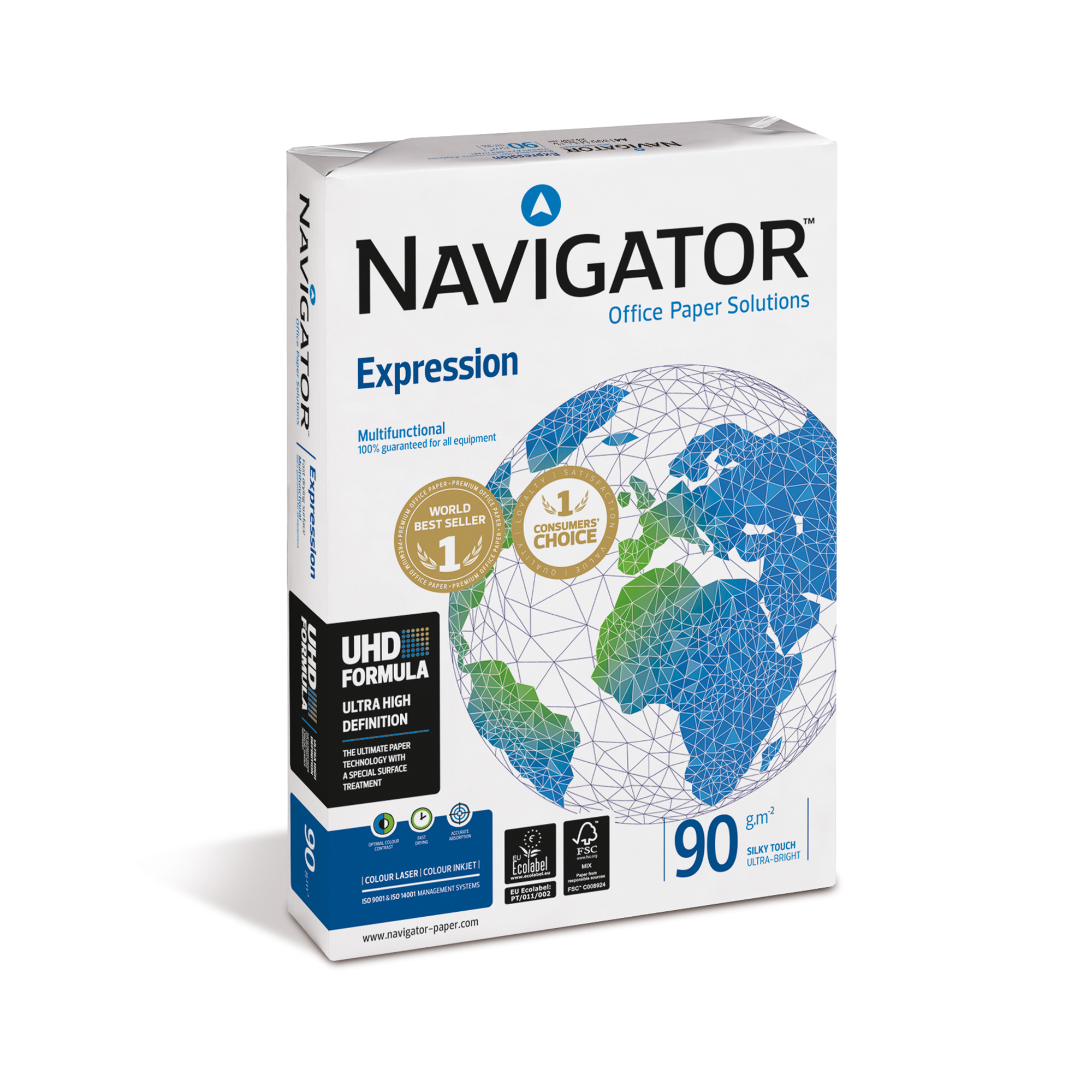 A3 Navigator Expression Paper Ream-Wrapped 90gsm A3 White Ref NAV90A3 500 SheetsREDEMPTION April-June 20