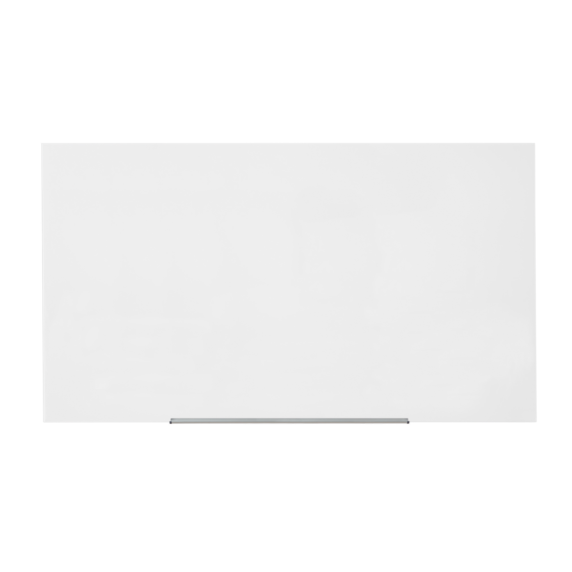 5 Star Office Glass Board Magnetic with Wall Fixings W1883xH1059mm White