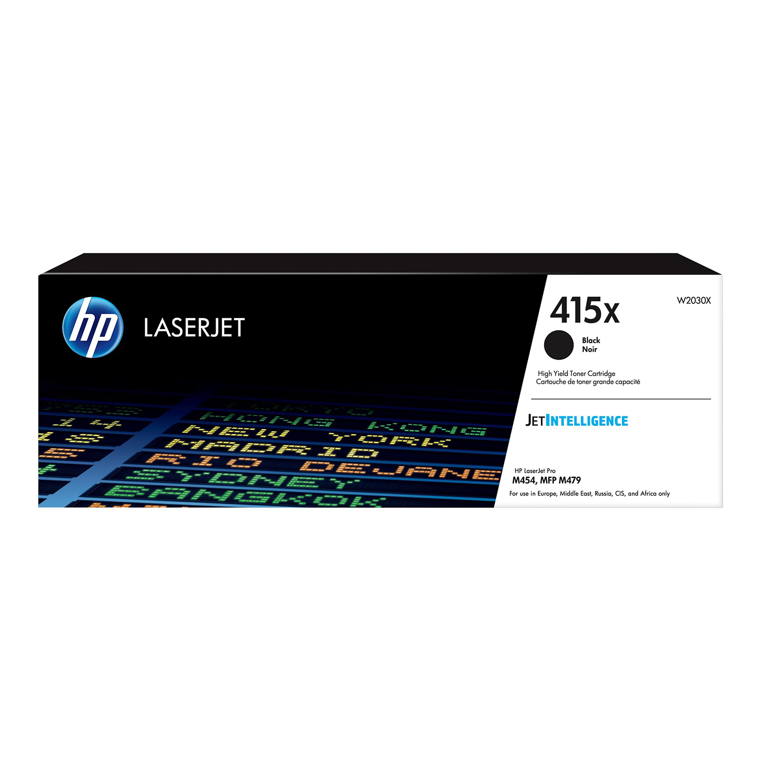 Hewlett Packard 415X Laser Toner Cartridge High Yield Page Life 7500pp Black Ref W2030X