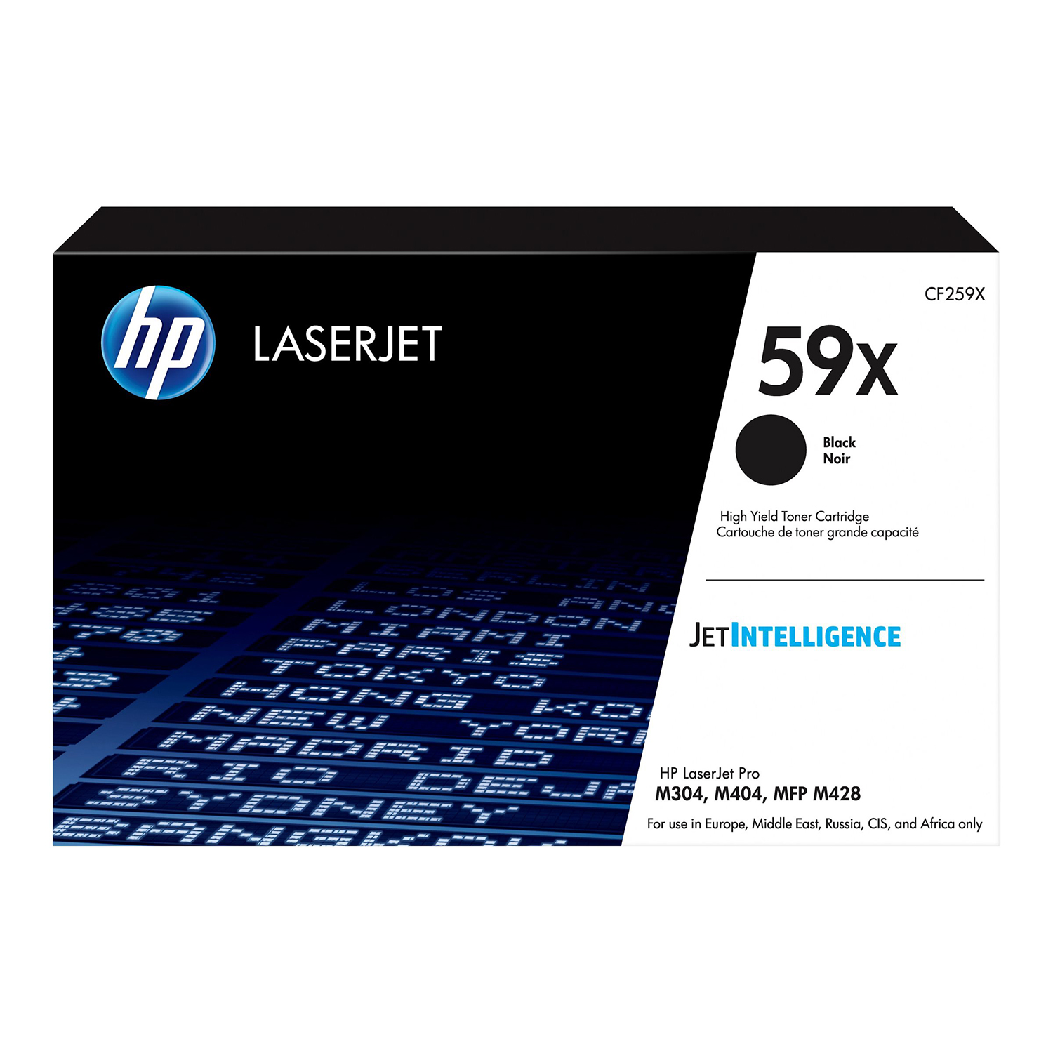Hewlett Packard 59X Laser Toner Cartridge High Yield Page Life 10,000pp Black Ref CF259X