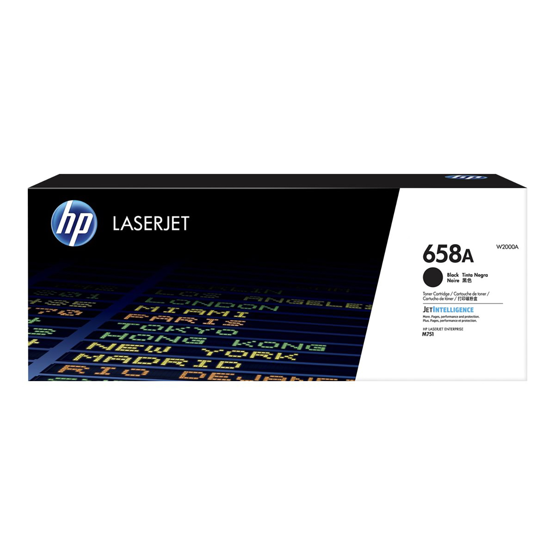 Hewlett Packard 658A Laser Toner Cartridge Page Life 7000pp Black Ref W2000A