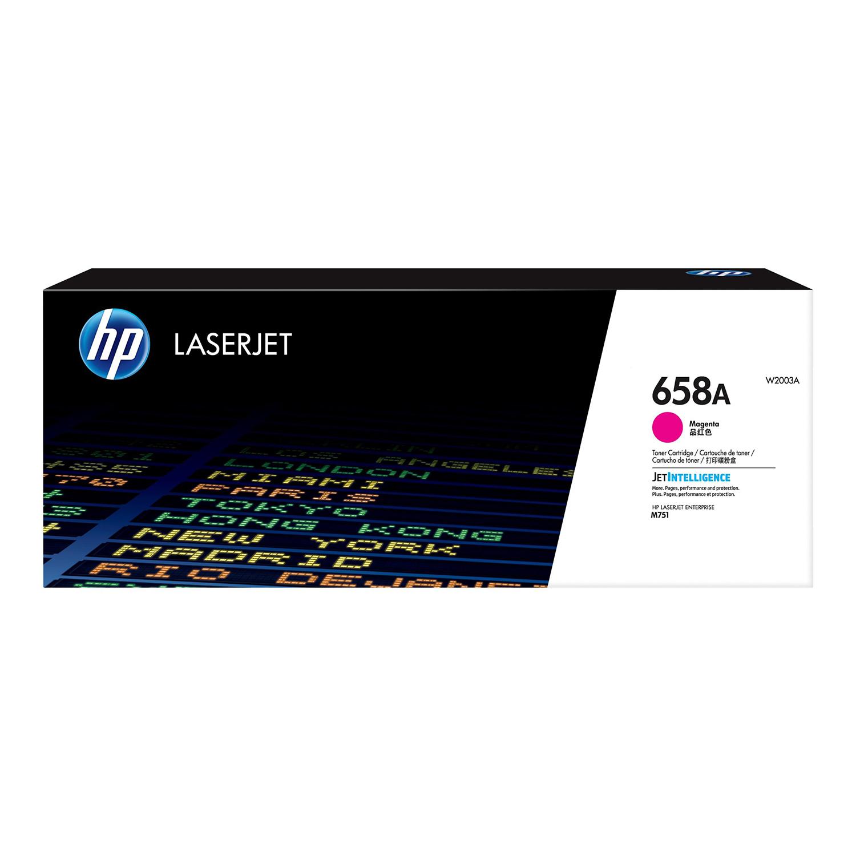 Hewlett Packard 658A Laser Toner Cartridge Page Life 6000pp Magenta Ref W2003A