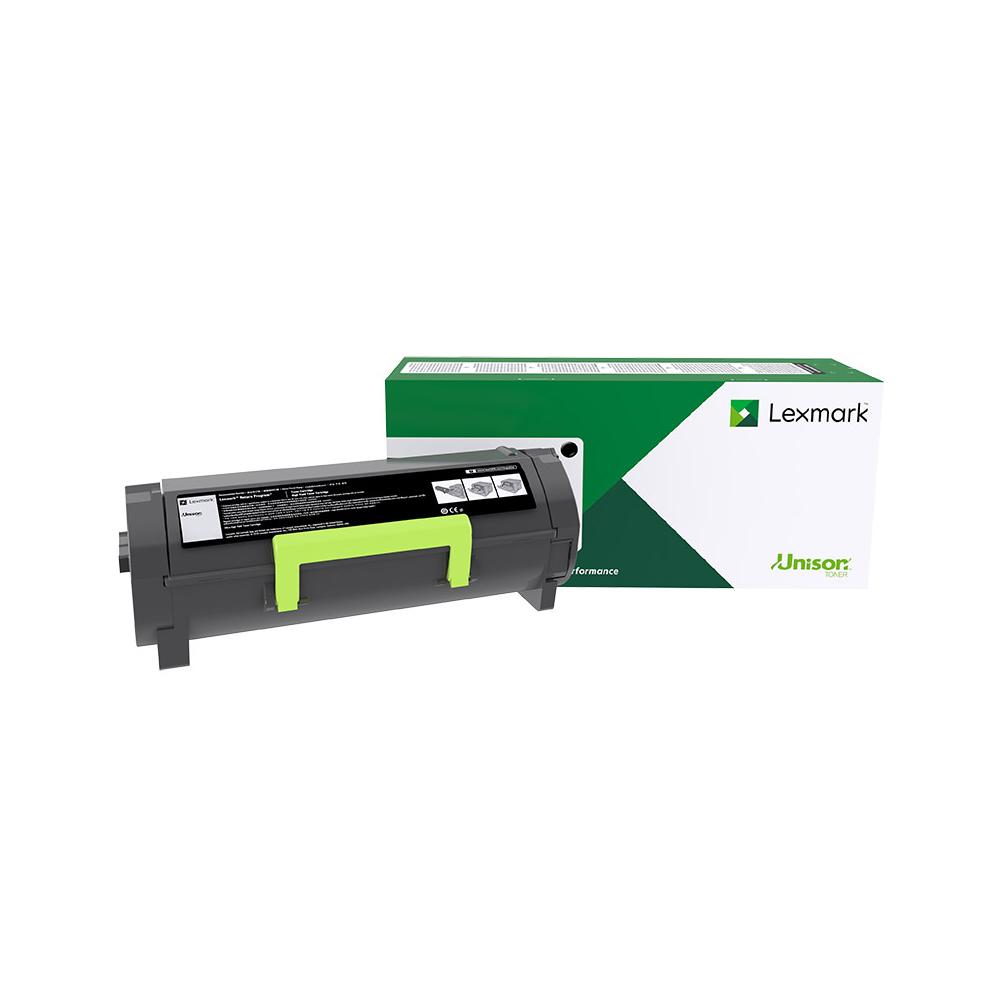 Lexmark 602H Laser Toner Cartridge High Capacity Return Program HY Page Life 10000pp Black Ref 60F2H00