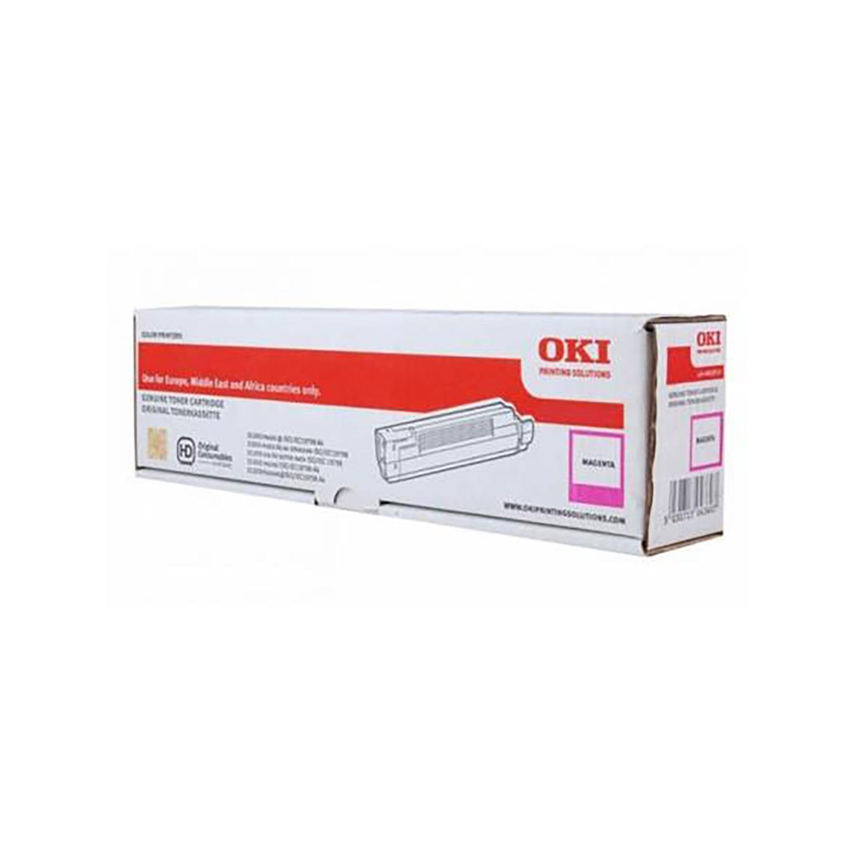 Oki MC853/873 Laser Toner Cartridge Page Life 7300pp Magenta Ref 45862838