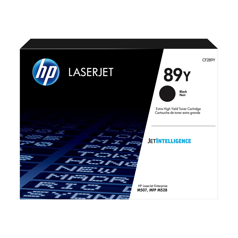 Hewlett Packard 89Y Laser Toner Cartridge High Yield Page Life 10,000pp Black Ref CF289Y