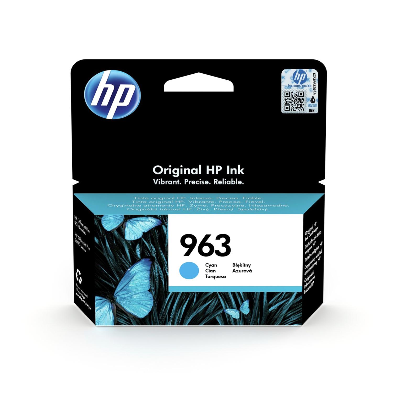 Hewlett Packard 963 Inkjet Cartridge Page Life 700pp 10.7ml Cyan Ref 3JA23AE