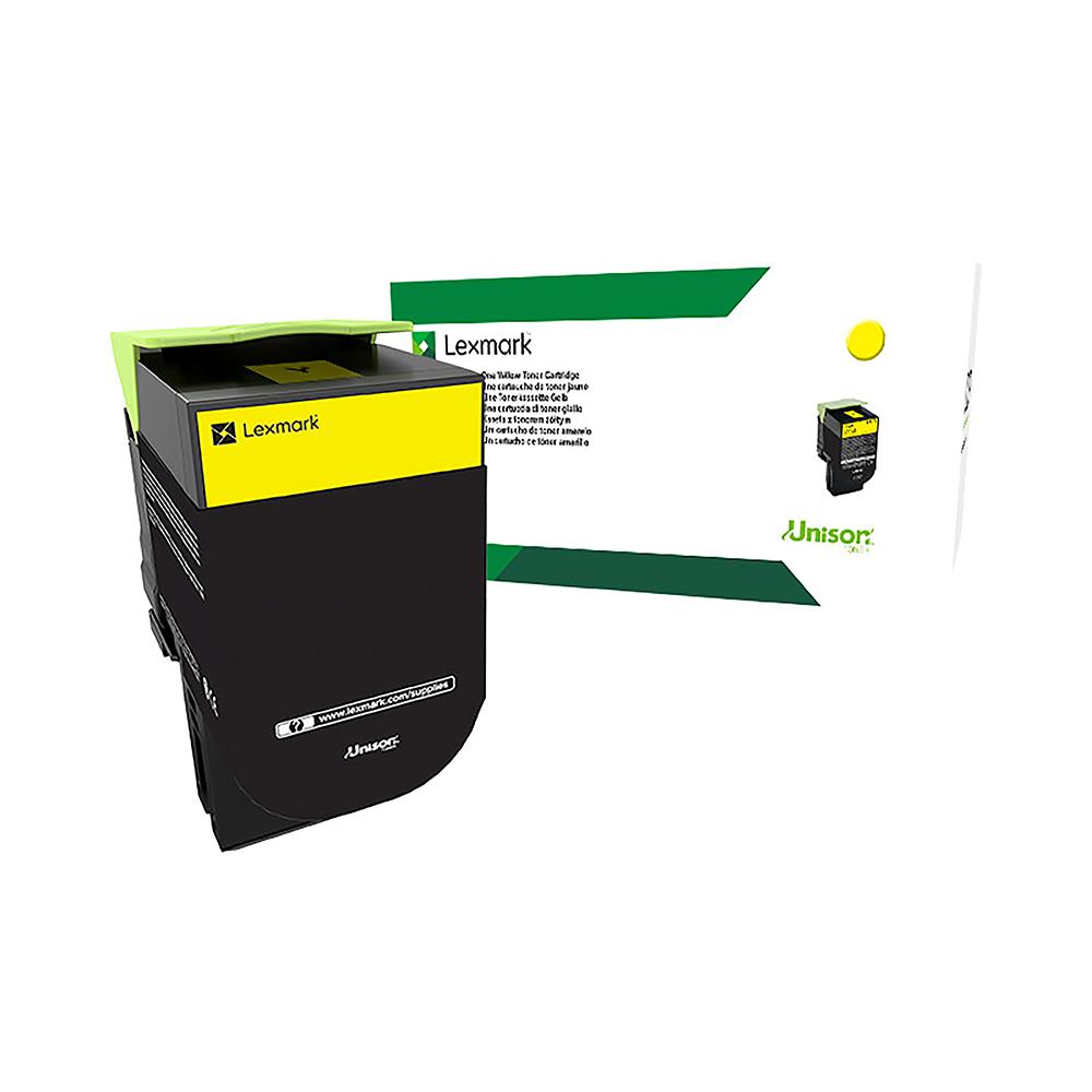 Lexmark CS/CX4/5 Laser Toner Cartridge High Capacity Return Program Page Life 3500pp Yellow Ref 71B2HY0