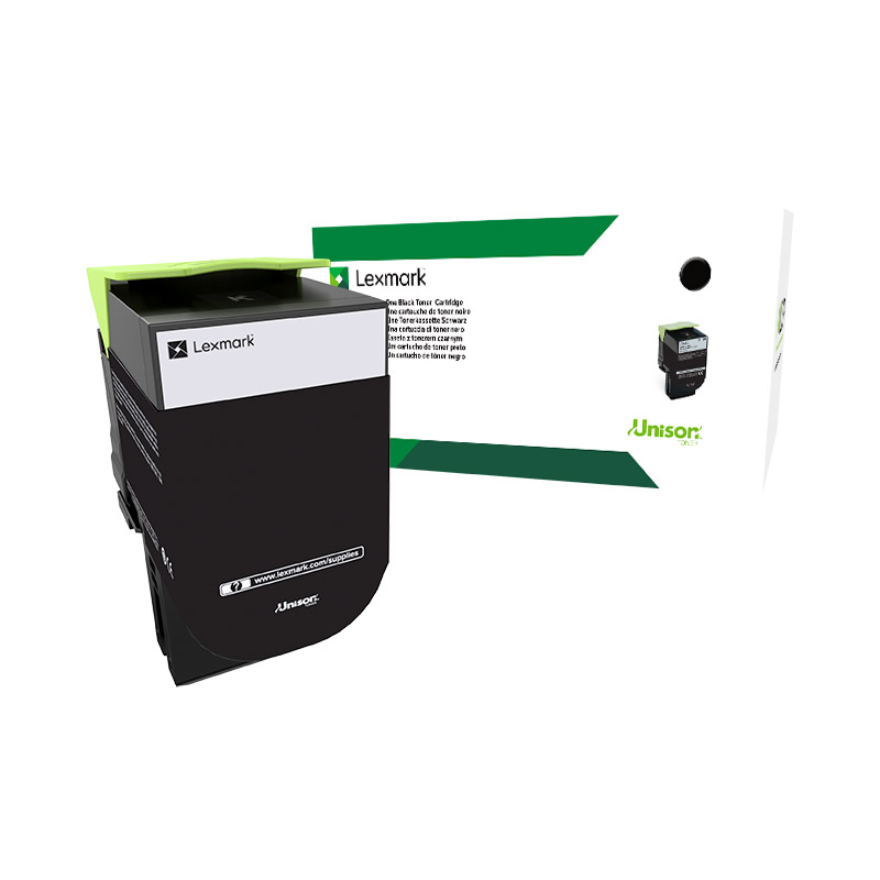 Lexmark CS/CX517 Laser Toner Cartridge Extra High Capacity Return Program 8000pp Black Ref 71B2XK0