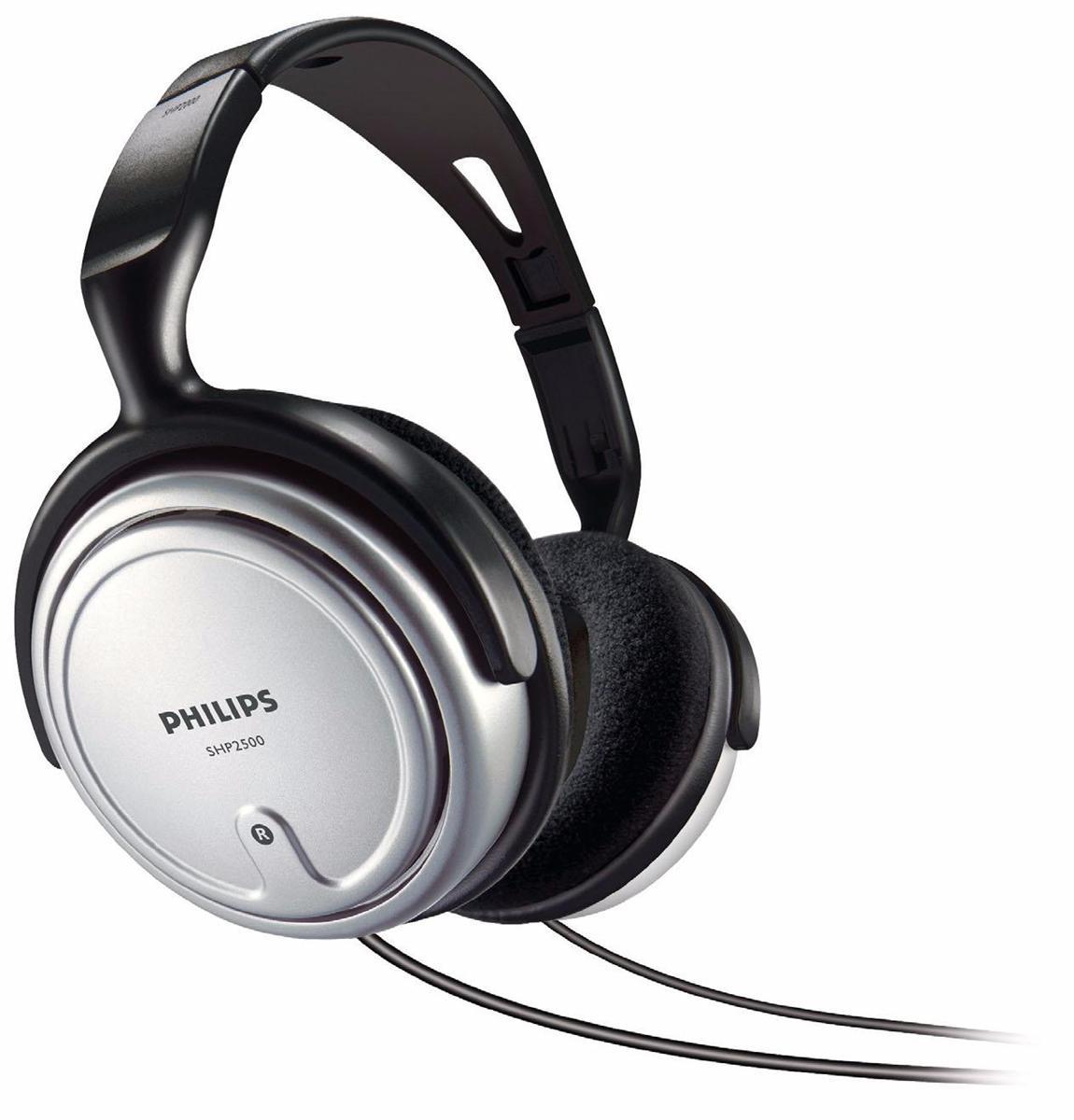 Philips SHP2500 Indoor Corded TV Headphone