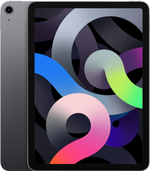 Apple iPad Air (10.9 inch, 4th Gen) Tablet Computer 2360x1640 64GB Wi-Fi (Space Grey)