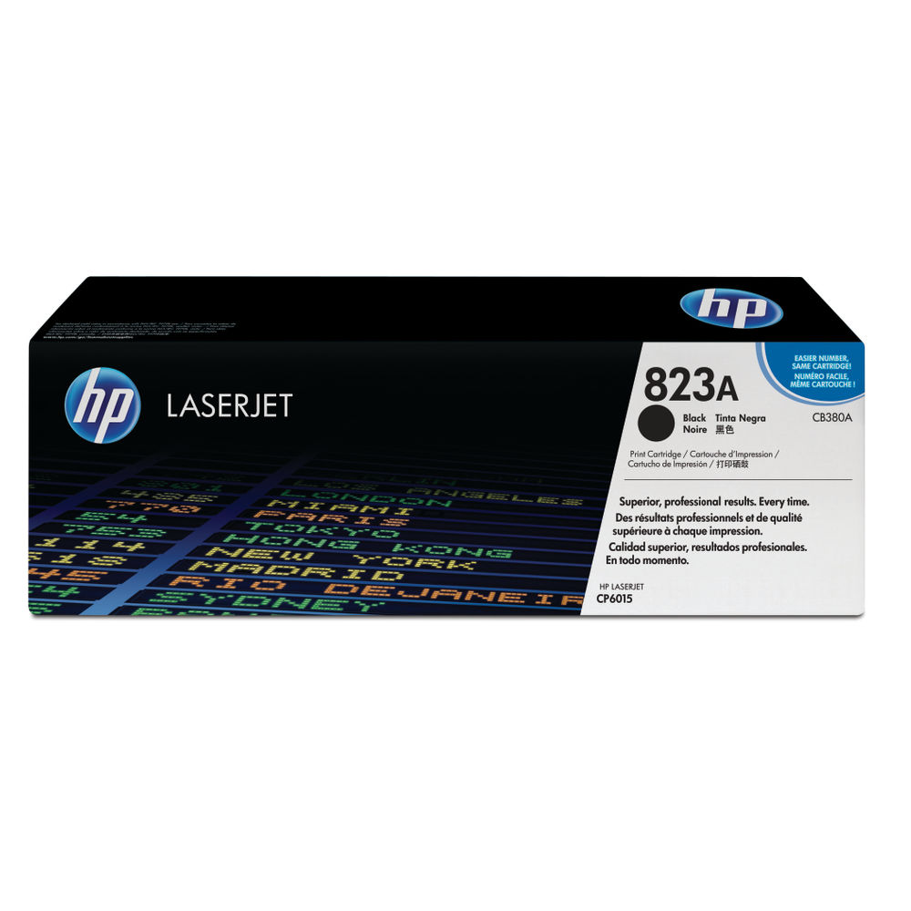 HP 823A (Yield: 16,500 Pages) Black Toner Cartridge