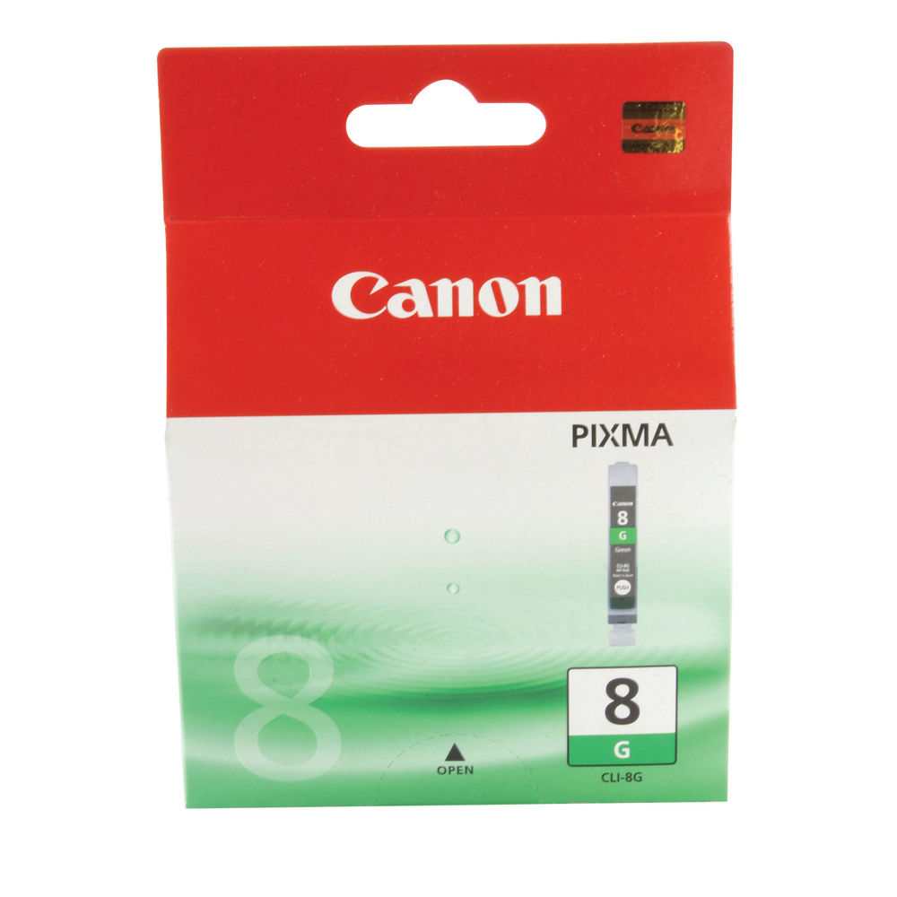 Canon CLI-8G (13ml) Photo Green Ink Cartridge