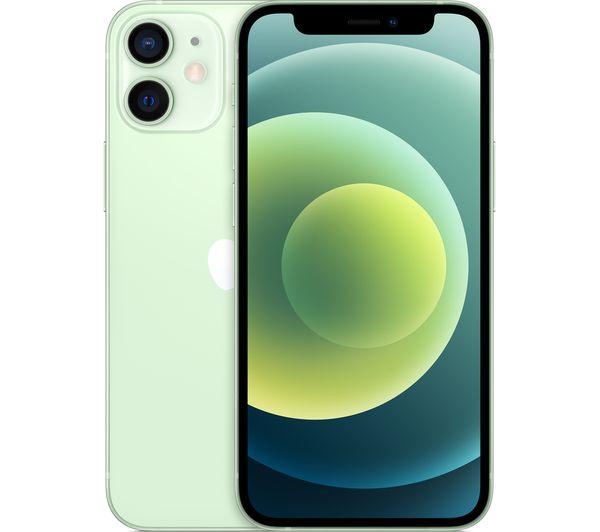 Apple iPhone 12 Mini (256GB) Smartphone (Green)