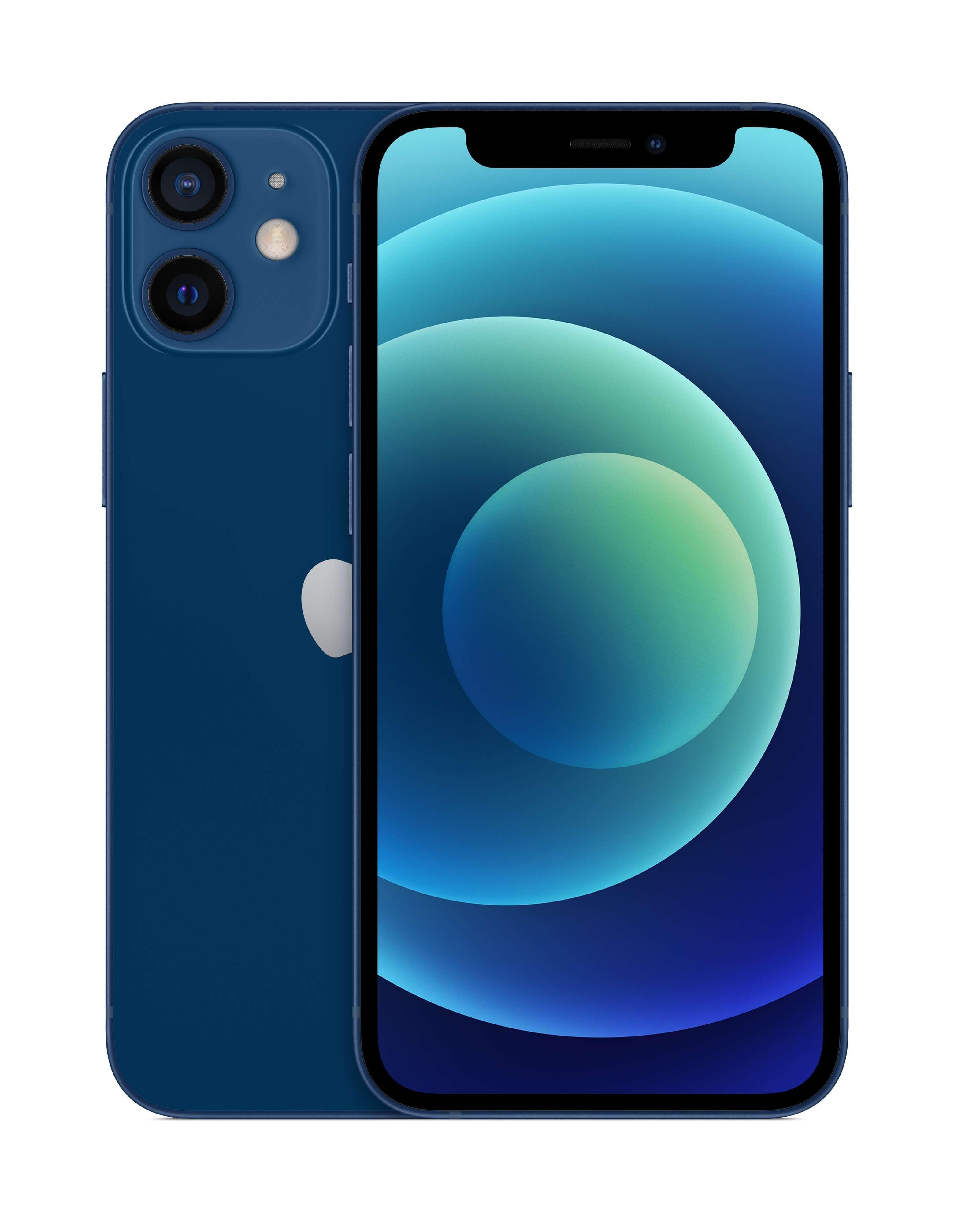 Apple iPhone 12 Mini (256GB) Smartphone (Blue)