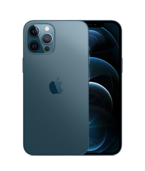 Apple iPhone 12 Pro Max (128GB) Smartphone (Pacific Blue)