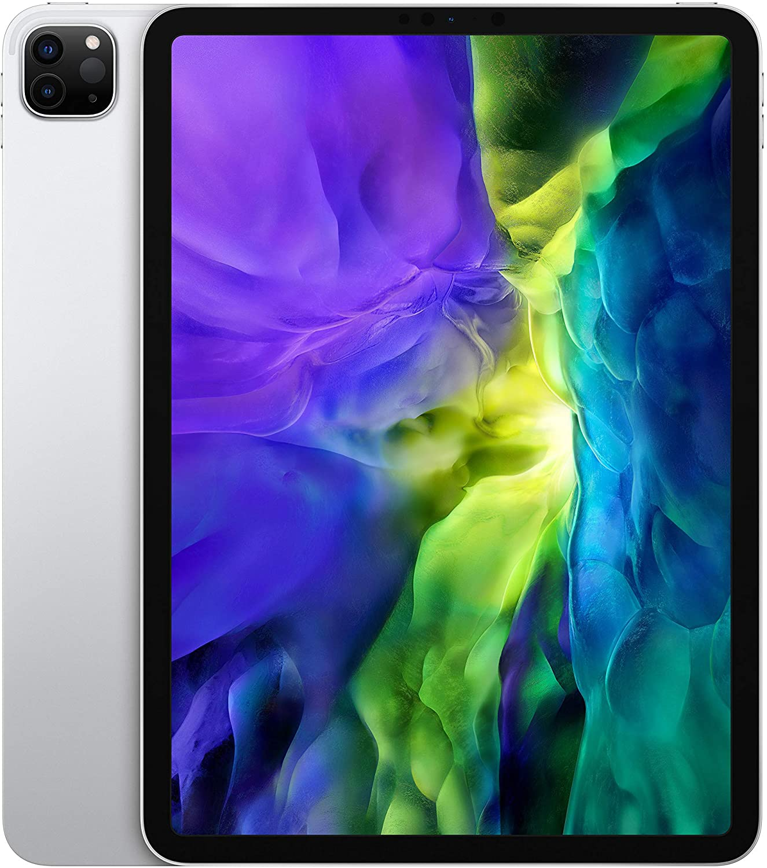 Apple iPad Pro (11 inch, 2nd Gen) Tablet Computer 2388x1668 512GB Wi-Fi 4G LTE (Silver)