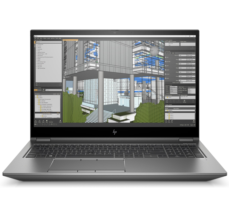 HP ZBook Fury 15 G7 (15.6 inch) Mobile Workstation Core i7 (10750H) 2.6GHz 16GB 512GB SSD WiFi Webcam Windows 10 Pro (Quadro T1000 4GB)