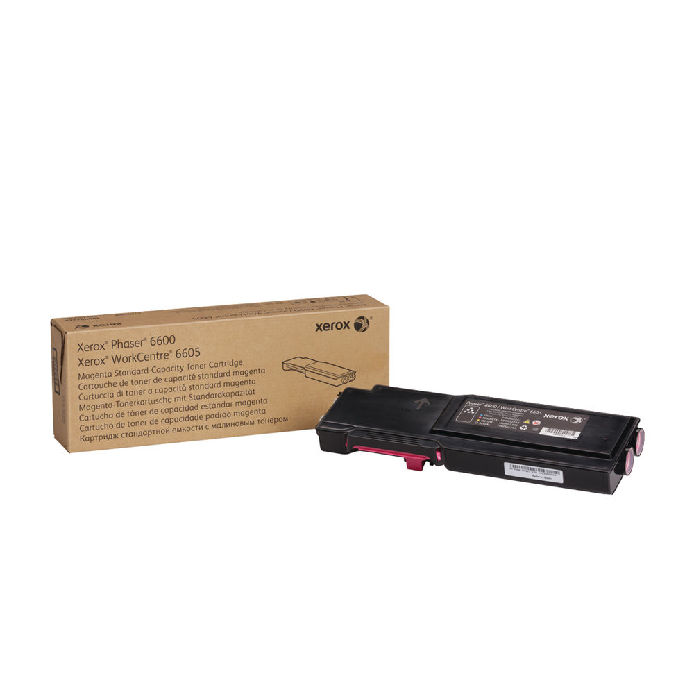 Xerox 106R02246 (Yield: 2,000 Pages) Magenta Toner Cartridge