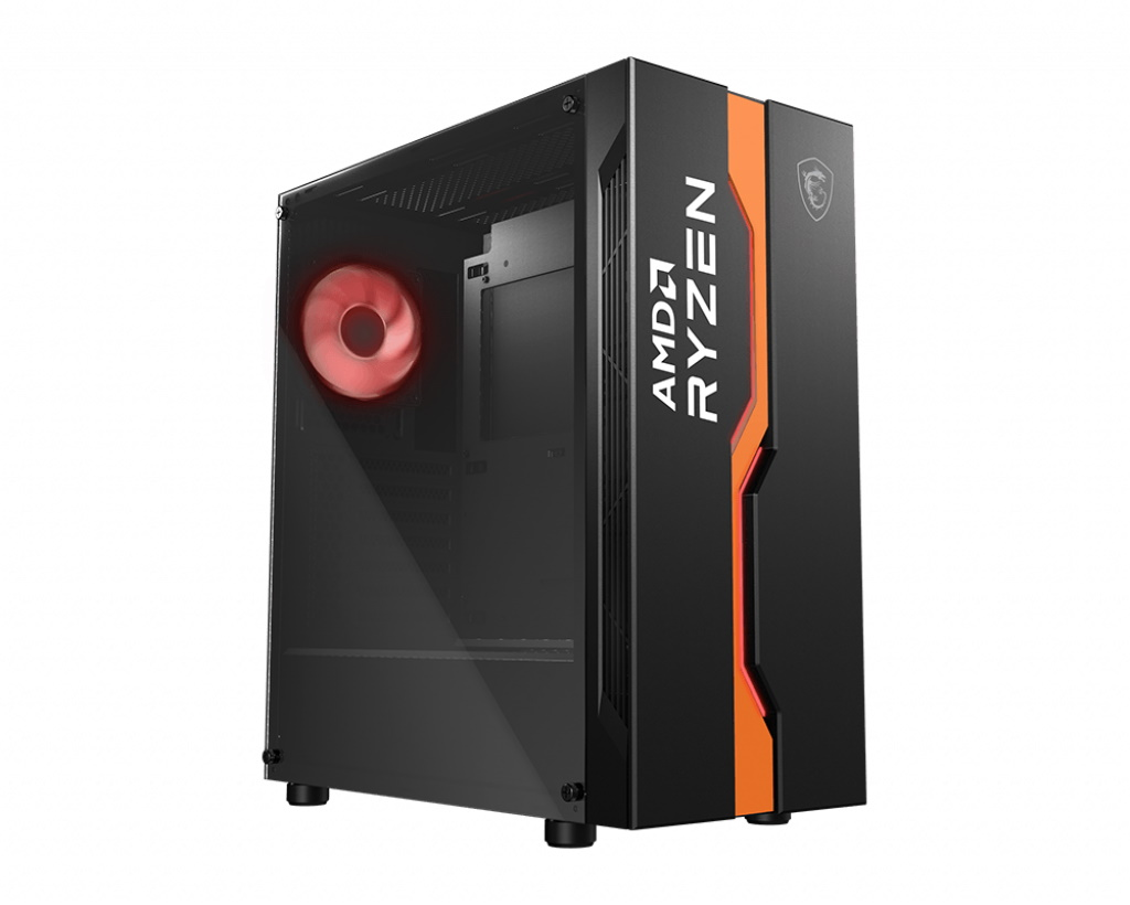 MSI MAG VAMPIRIC 011C AMD RYZEN Edition Mid Tower Gaming Computer Case