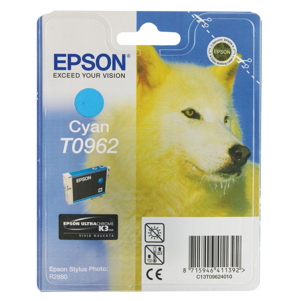 T0962 Cyan Ink Cartridge - 13ml