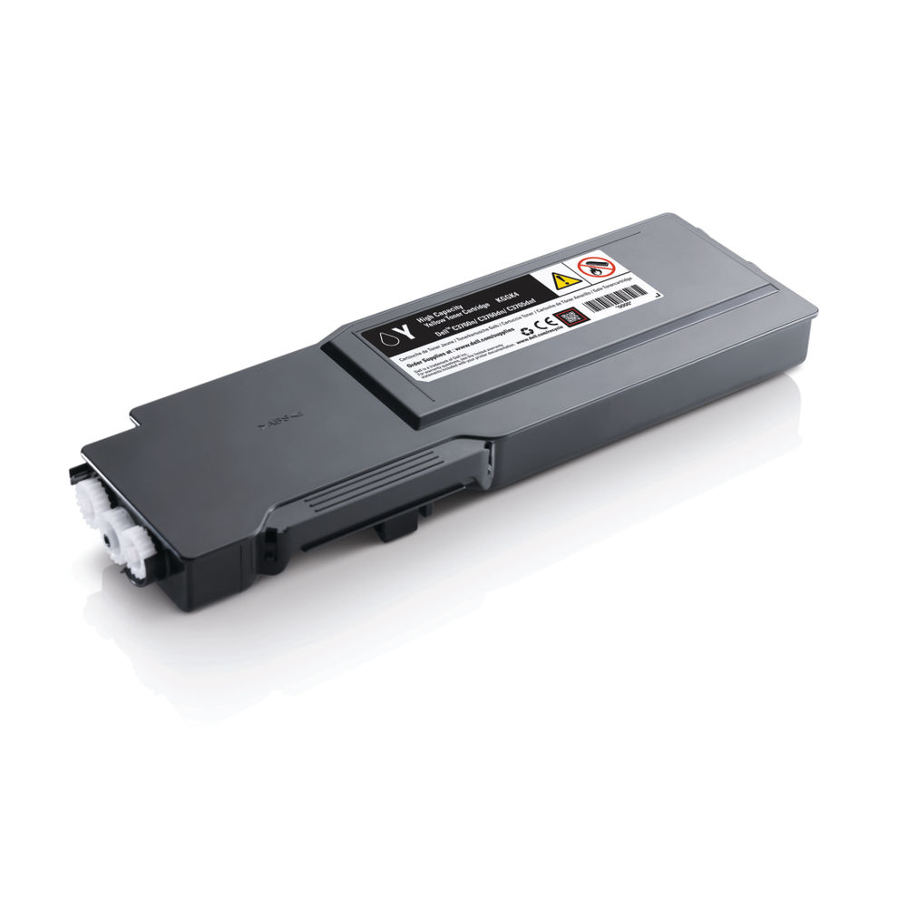 Dell KGGK4 High Capacity (Yield: 5,000 Pages) Yellow Toner Cartridge