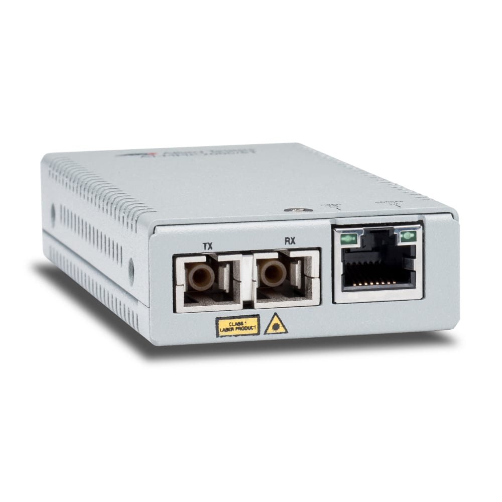 Allied Telesis MMC200/LC-960 10/100TX to 100FX/LC Multi Mode Mini Media and Rate Converter