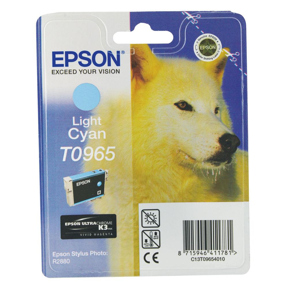 Epson T0965 Light Cyan Ink Cartridge - 13ml