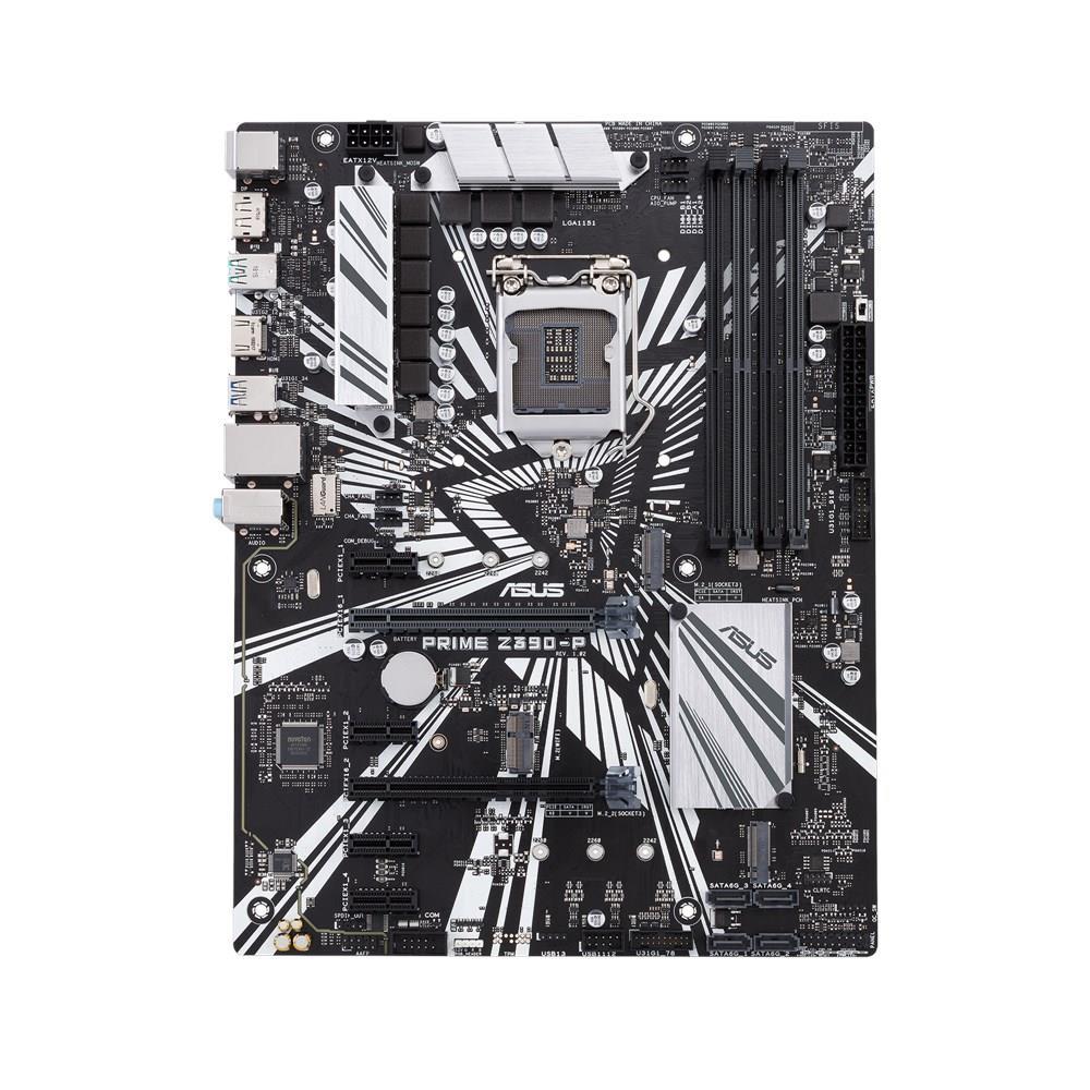 Asus Prime Z390-P Intel LDA1151 Z390 Motherboard (ATX) RAID LAN (Intel UHD Graphics)