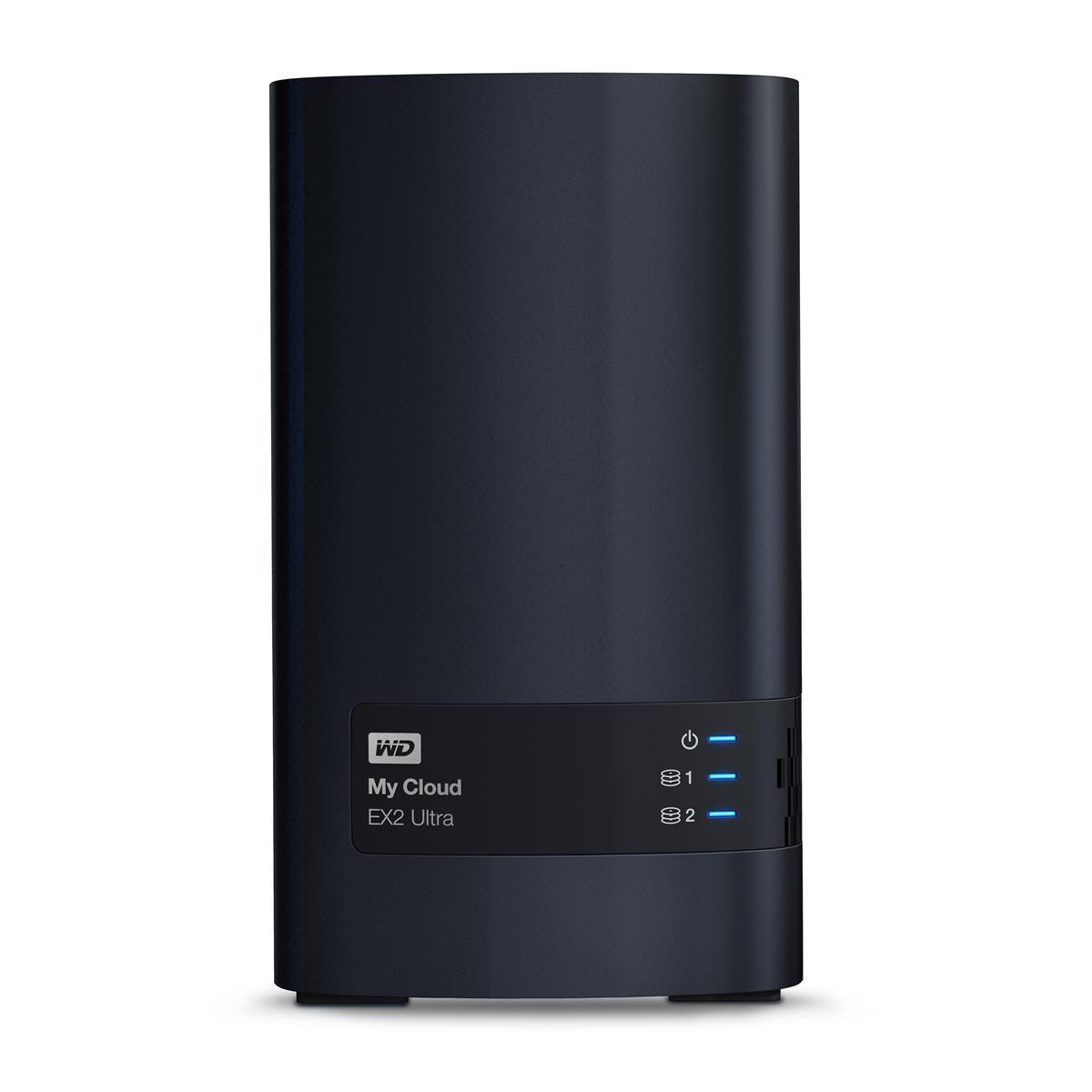 WD My Cloud EX2 Ultra (2 x 2TB) 4TB 2 x Bay High Performance Cloud Storage Server
