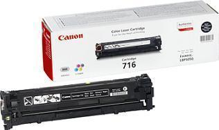 Canon 716 (Yield: 2,300 Pages) Black Toner Cartridge