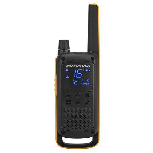 Motorola T82 Extreme 2 Way Walkie Talkies - Quad