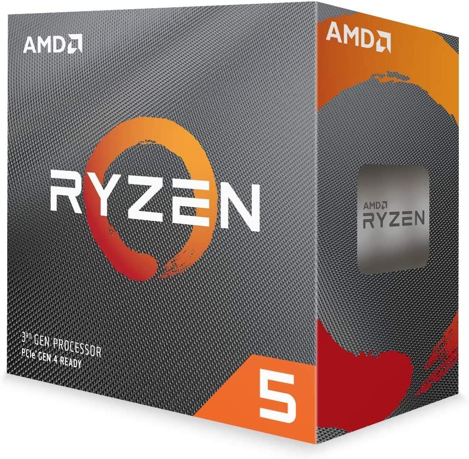 Amd Ryzen 5 3600 - 3.6 GHZ - 6-core - 12 Threads - 3 MB Cache - Socket Am4 - Box