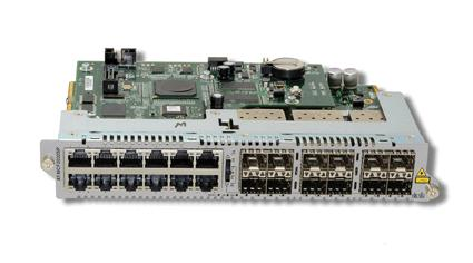 Allied Telesis 12 Channel 10/100/1000T Gigabit Ethernet to SFP Line Card
