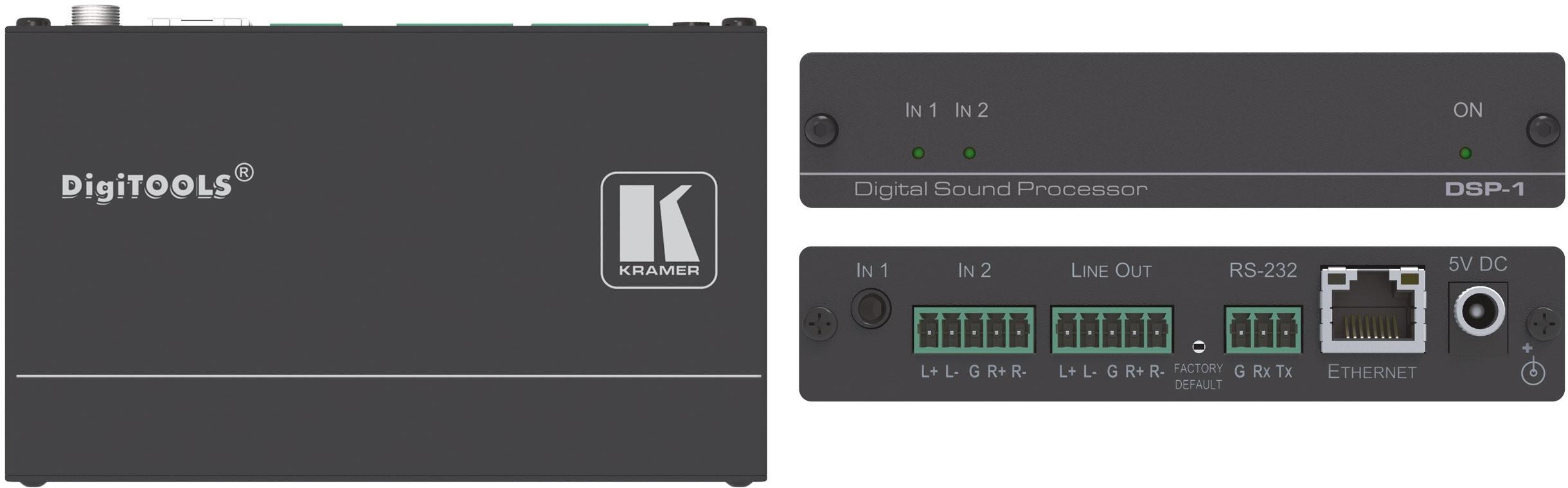 Kramer Electronics Mini Digital Sound Processor