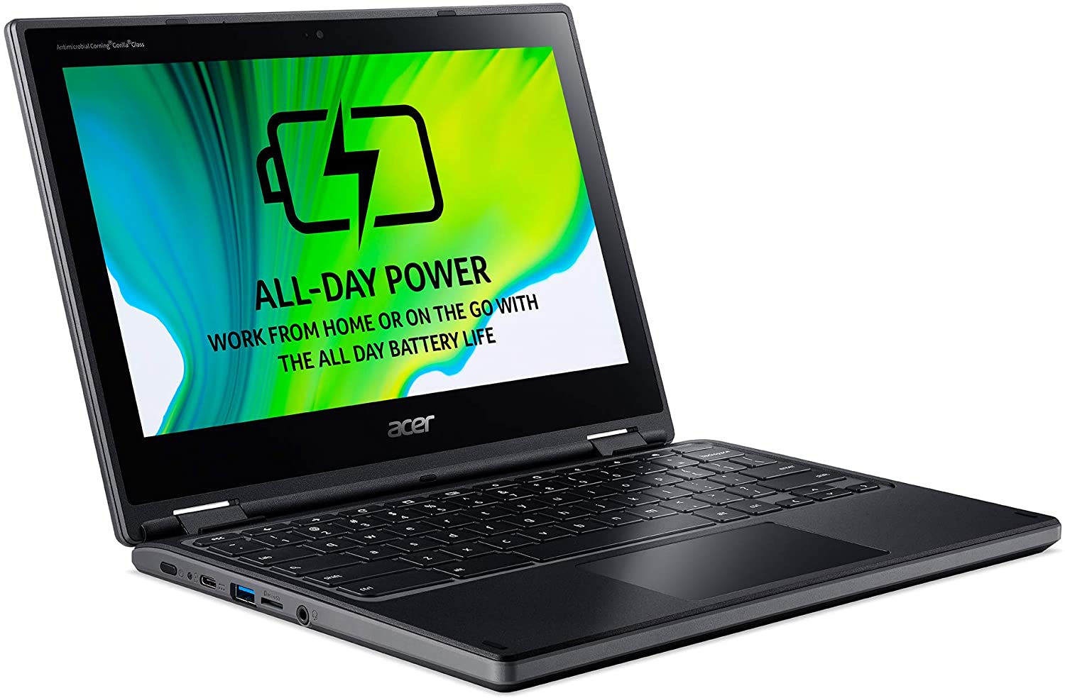 Acer Chromebook Spin 311 R721T-482Z (11.6 inch) 2-in-1 Chromebook PC A4 (9120C) 1.6GHz 4GB 32GB Flash WiFi Chrome OS (Radeon R4 Graphics)