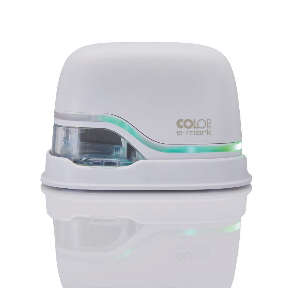COLOP e-mark WiFi Electronic Marking Device (White) UK Power Plug Type G