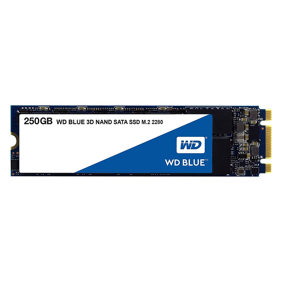 WD Blue (250GB) 3D NAND M.2 Solid State Drive (Internal)