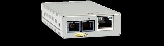 Allied Telesis MMC200/SC-960 10/100TX to 100FX/SC Multi Mode Mini Media and Rate Converter