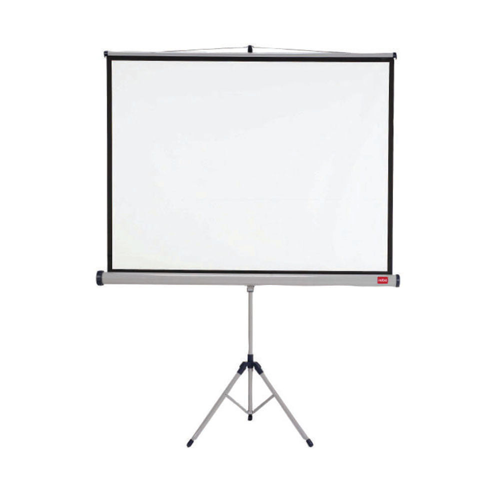 Nobo Tripod Projection Screen for DLP LCD 4:3 Format Black-Bordered