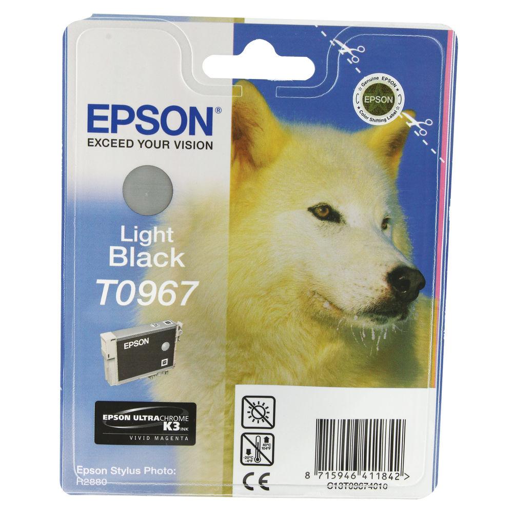 Epson T0967 Light Black Ink Cartridge - 13ml